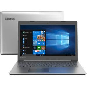 "[APP Shoptime] Notebook Lenovo Ideapad 330 Intel Core i5-8250u 8GB 1TB Tela HD 15.6"" Windows 10 - Prata - R$2076"