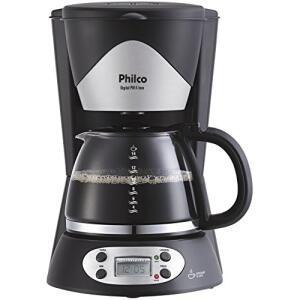 Cafeteira Digital PH14 Inox, 220V, Philco 53902017, Preto, Philco, 53902017, Preto - R$80