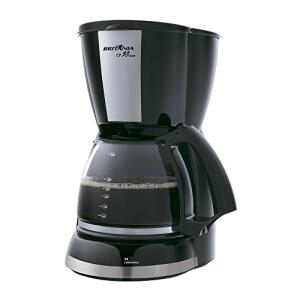 Britânia 63901064 Cafeteira Elétrica, 127V, Preta - R$89