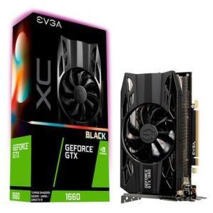 Placa de Vídeo EVGA NVIDIA GeForce GTX 1660 XC Black Gaming 6GB - R$1000