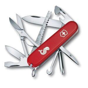 Canivete Victorinox Fisherman 17 Funções 9,1 Cm - Vermelho - R$139