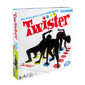 Jogo Twister Novo - Hasbro | R$67