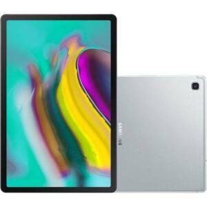 "[APP + CC] Tablet Samsung Galaxy Tab S5e 64GB Octa-Core 2.0GHz Wi-Fi + 4G Tela 10,5"" Android Pie - Prata"