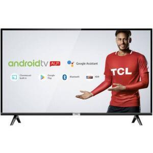 """Smart TV LED 43"""" Android TCl 43s6500 Full HD com Conversor Digital  por R$ 1250"""
