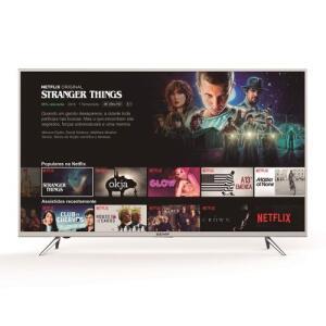 "Smart TV LED 55"" Semp Toshiba TCL K1 UHD 4K 55K1US HDR com Wifi Integrado 3 HDMI 2 USB   R$2.120"