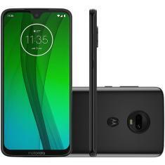 Smartphone Motorola Moto G7 64GB 4GB Tela 6.24 Full HD Câmera 12 + 5MP | R$1.009