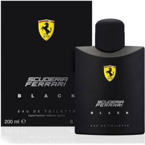 Perfume Ferrari Black Masculino Eau De Toilette 200ml por R$ 138