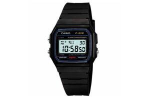 Relógio Masculino Casio Digital Esportivo F-91W-1DG. por R$ 50