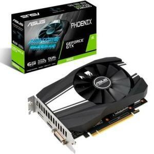 Placa de Vídeo Asus Phoenix NVIDIA GeForce GTX 1660 6GB, GDDR5 - R$1000