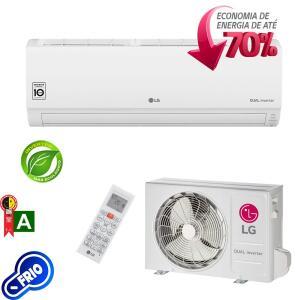 Ar Condicionado Split LG Dual Inverter 9000 Btus Frio 220v por R$ 996