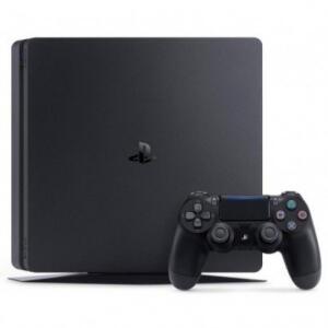 Console Sony PlayStation 4 Slim 500GB + Controle Dualshock Preto | R$1.376