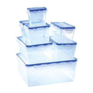 Conjunto de Potes Herméticos 7 Peças - R$30