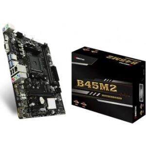 Placa Mãe Biostar B350, B45M2, DDR4, AMD AM4 - R$369
