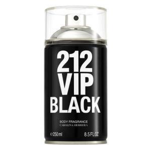 [AME] 212 Vip Men Black Carolina Herrera - Body Spray - R$139 (ou R$83 com Ame)