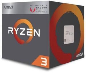 Processador AMD Ryzen 3 2200G, Cooler Wraith Stealth, Cache 6MB, 3.5GHz 6MB AM4 | R$426