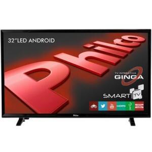 Smart TV LED 32´ HD Philco, Conversor Digital, 2 HDMI, 2 USB, Wi-Fi - PTV32E20DSGWA R$800