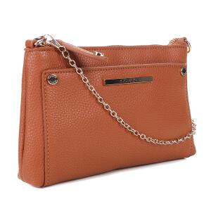Bolsa Colcci Mini Bag Tiracolo Alça Corrente Feminina - Caramelo R$100