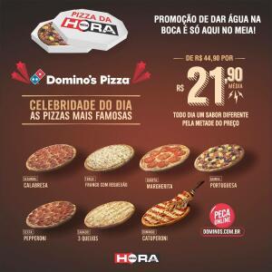 [Pedido Online] Pizzas selecionadas pela metade do preço na Domino's