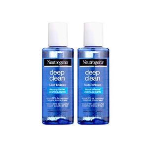 Kit com 2 Demaquilantes Neutrogena Deep Clean 117mL | R$50