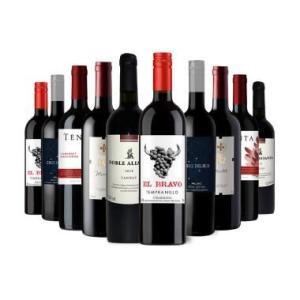 Kit 10 Vinhos por R$  199