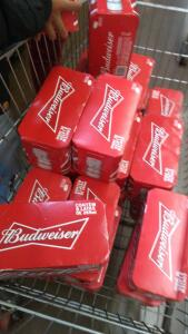 Cerveja Budweiser 269ml Wallmart (Loja física)