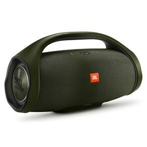 Caixa de Som Portátil JBL Boombox Bluetooth à Prova d'água - Verde - R$1549