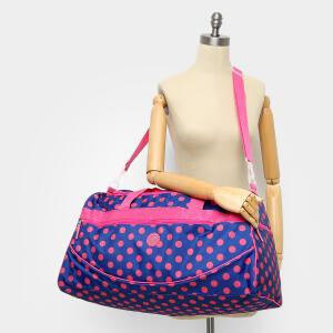 Bolsa Clio Poá Feminina - Rosa e Marinho R$60