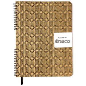 Sketchbook Descolado Étnicos Cipós 75 G/m² 21,0 X 28,0 Cm Com 96 Páginas Cicero