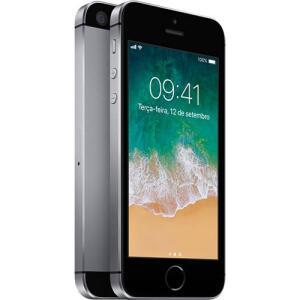 [AME R$ 1042,06] iPhone SE 32GB Cinza Espacial IOS 4G Câmera 12MP - Apple