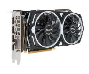 Placa de Video MSI Radeon RX 570 4GB GDDR5 Armor OC 256-bit | R$579