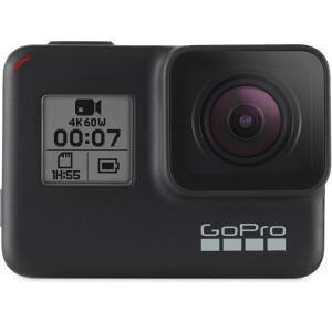 Filmadora Gopro Hero 7 Black, 4K, Wi-fi, Gps + Cartão 32GB Extreme 90mb/s | R$1629