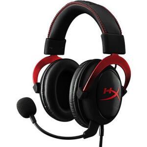 Headset Gamer P2 HyperX Cloud II 7.1 preto/vermelho KHX-HSCPRD HyperXCX 1 UN | R$474