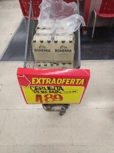 Cerveja Bohemia 355ml por R$2 (RJ)