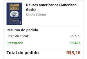 Ebook Kindle - Deuses Americanos