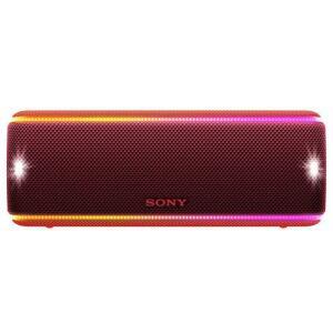 Caixa de Som Portátil Sony SRS-XB31 com Bluetooth, Extra Bass, Iluminação Multicolorida, Efeitos Sonoros, Design a Prova d'água e Poeira