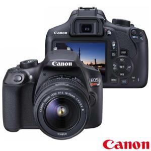 Câmera Digital DSLR Canon T6 18MP