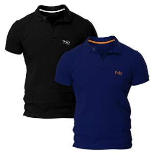 Kit com Duas Camisas Polo Piquet Regular Fit - POLO Match