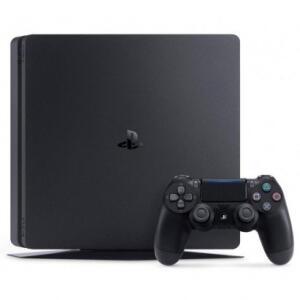 Console Sony PlayStation 4 Slim 500GB + Controle Dualshock Preto | R$1.407