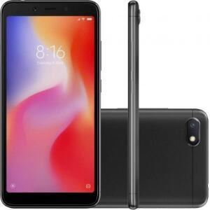 Smartphone Xiaomi Redmi 6A 32GB Versão Global Desbloqueado Preto | R$534