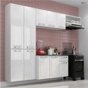 Cozinha Compacta Amanda Itatiaia Branco Nevada | R$503