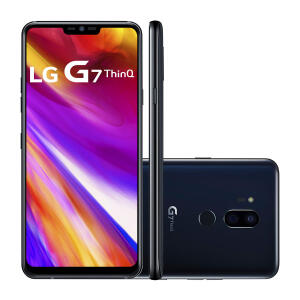 "Smartphone LG G7 Thinq Dual Chip Android 8.0 Tela 6.1"" QHD+ Fullvision Qualcomm Snapdragon 845   R$1.499"