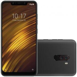 Smartphone Xiaomi Pocophone F1 64GB Versão Global Desbloqueado Preto | R$ 1.480