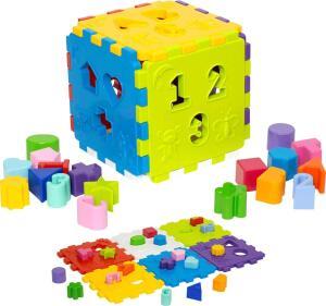 Cubo didático- Brinquedo Educativo
