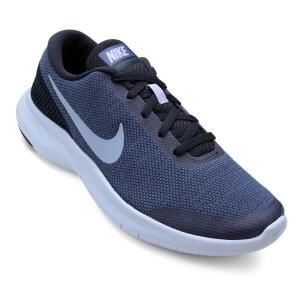 Tênis Nike Flex Experience RN 7 Feminino - Azul e Cinza | R$145