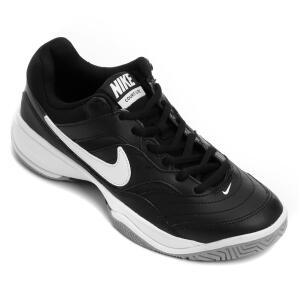 Tênis Nike Court Lite Masculino - Preto e Branco | R$170