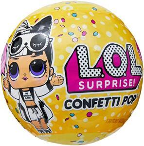 Boneca Lol Confetti Pop 9 Surpresas Candide Amarelo | R$118