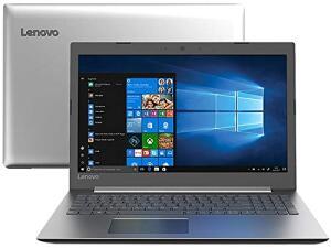 "Notebook Lenovo Ideapad 330, Intel Core i5 8250U, 8GB RAM, HD 1TB, Tela 15.6"" LED, Windows 10, 81FE0002BR"