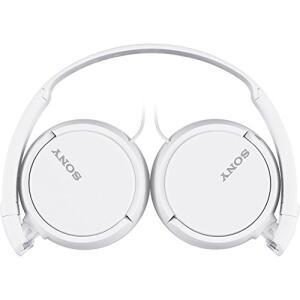 Headphone dobrável, Sony MDR-ZX110, Branco | R$50