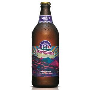 (BH - SUPERNOSSO) Cerveja Backer Belorizontina Pilsen 600ml