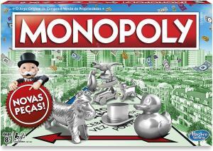 Jogogaming Monopoly Hasbro Verde/Vermelho